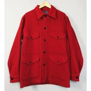 Vintage Pendleton Wool Mackinaw Cruiser Jacket